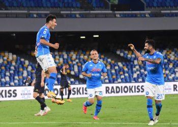 الدوري الإيطالي   مباراة نابولي وجنوى