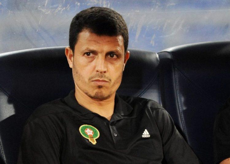 الرجاء المغربي - جمال السلامي مدرب الفريق