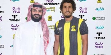أحمد حجازي بقميص اتحاد جدة