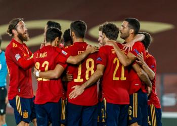 دوري الأمم الأوروبية - مباراة إسبانيا ضد سويسرا