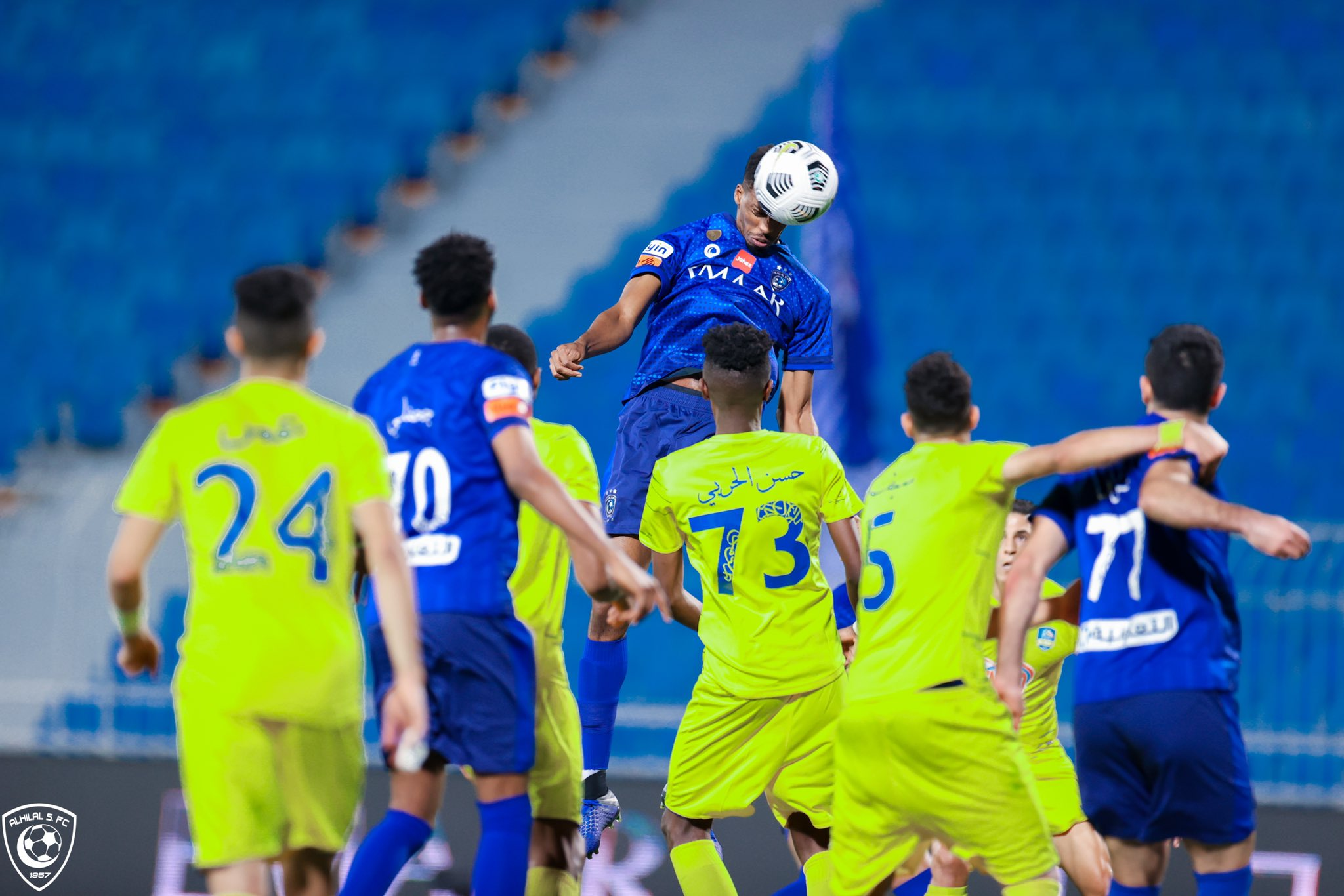 ملخص واهداف مباراة الهلال والعين في الدوري السعودي