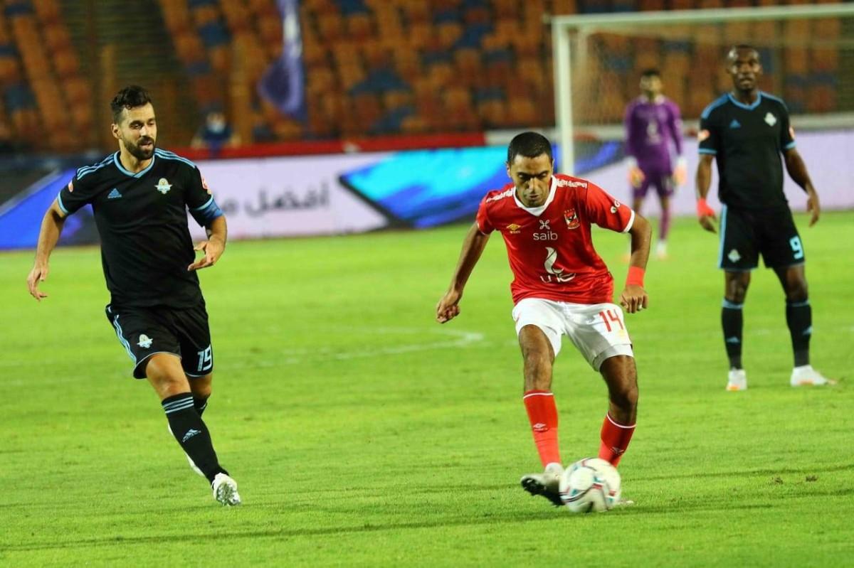 مباراة الأهلي و بيراميدز في الدوري المصري الممتاز - التيار الاخضر