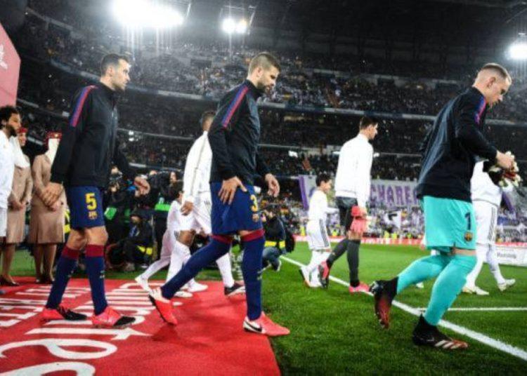 التشكيل المتوقع لمباراة برشلونة وريال مدريد