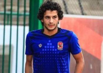 العربي بدر لاعب الأهلي المصري