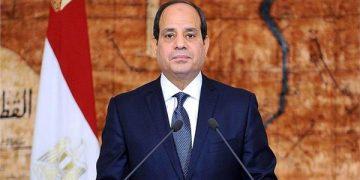 الرئيس السيسي مصر والدنمارك - مونديال اليد