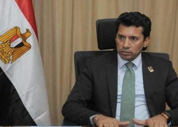 وزير الرياضة المصري