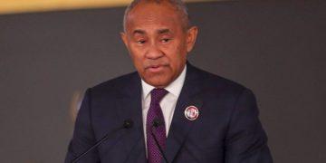 أحمد أحمد رئيس الاتحاد الإفريقي لكرة القدم