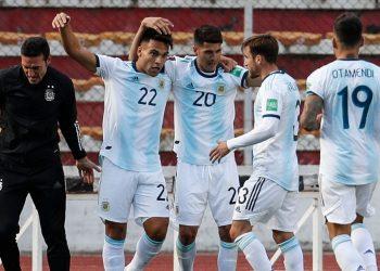 مباراة بوليفيا والأرجنتين
