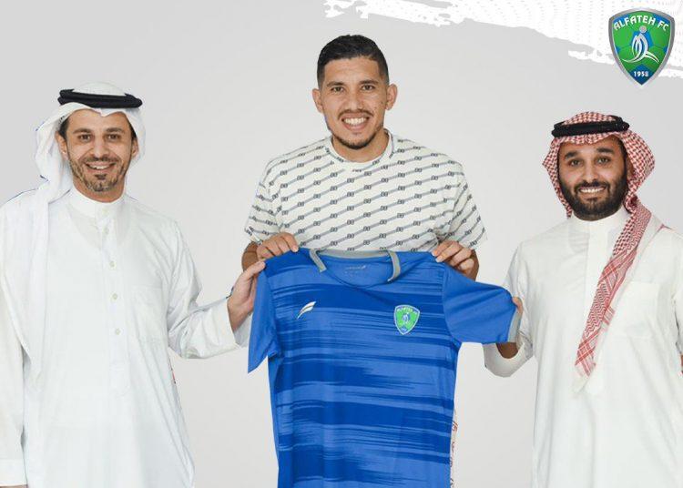 مروان سعدان لاعب الفتح السعودي