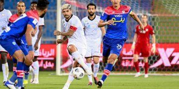 الشباب وأبها فى الدوري السعودي