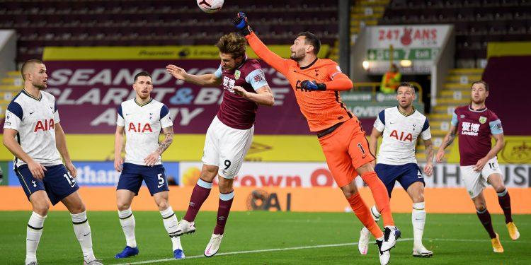 مباراة بيرنلي وتوتنهام في الدوري الإنجليزي
