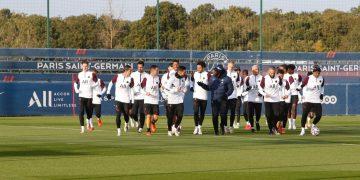 دوري أبطال أوروبا | تدريبات باريس سان جيرمان استعدادا لمانشستر يونايتد