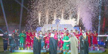 تتويج المحرق بطلا لكأس ملك البحرين