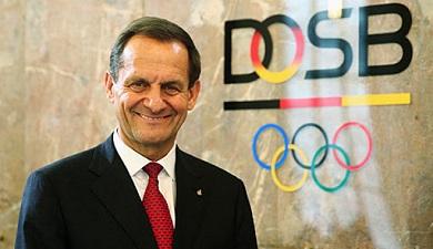 ألفونس هورمان رئيس الاتحاد الألماني للرياضات الأولمبية
