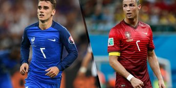 تاريخ مواجهات البرتغال وفرنسا