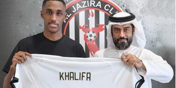 الجزيرة الإماراتي - خليفة الحمادي يجدد عقده مع فخر أبوظبي