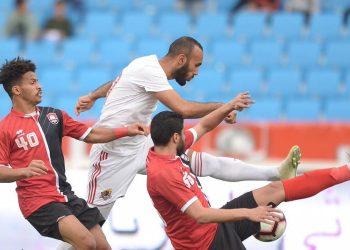 الوحدة والرائد فى الدوري السعودي