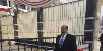المستشار أحمد البكري داخل مقر نادي الزمالك