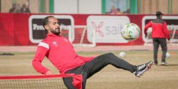 وليد سليمان لاعب الأهلي المصري