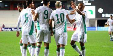 منتخب الجزائر - مباريات اليوم