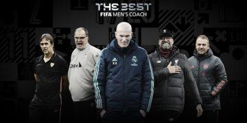 أفضل مدرب في العالم