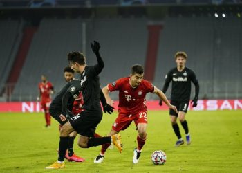 بايرين ميونخ الألماني يفوز على ريد بول سالزبورغ النمساوي فى دوري الأبطال
