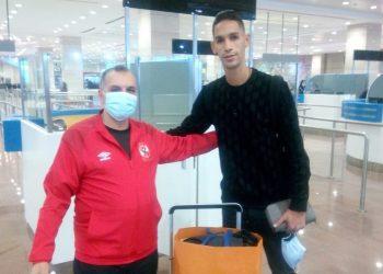 بدر بانون لاعب الأهلي المصري