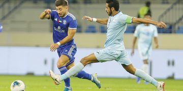 النصر و بنى ياس من الدوري الإماراتي