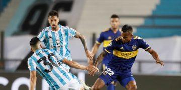 10 لقطات من مباراة راسينج الأرجنتيني وبوكا جونيورز في ربع نهائي ليبرتادوريس