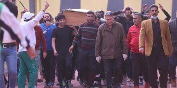 جنازة المدرب العراقي - الدوري العراقي