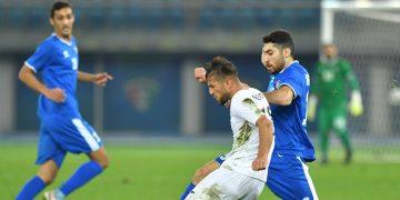 مباراة منتخب الكويت وفلسطين الودية