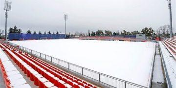 إغلاق ملعب مران أتلتيكو مدريد الإسباني بسبب الثلوج