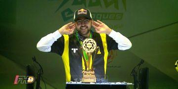 مساعد الدوسري لاعب الاتحاد السعودي للألعاب الإلكترونية