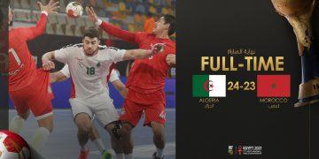 الجزائر والمغرب - مونديال اليد
