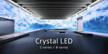 سوني - crystal led